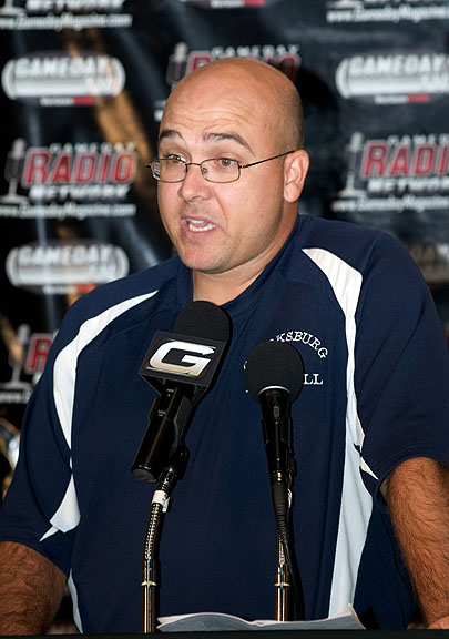 Head Coach Larry Hurd of Clarksburg High School